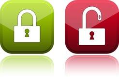 Vektorglatte Taste für Web-Auslegung. Stockfotos