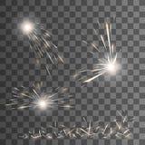 Vektorgnistaeffekt Royaltyfria Bilder