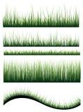 Vektorgräs Royaltyfria Bilder
