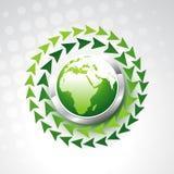 Vektorgrüne Erde vektor abbildung