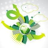 Vektorgrüne Erde stock abbildung