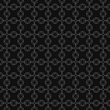 Vektorgraues geometrisches nahtloses Muster Stockfotos