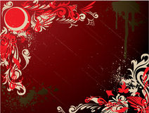 Vektorgrunge dekorative Fahne Lizenzfreies Stockfoto