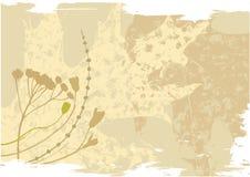Vektorgrunge Naturhintergrund Lizenzfreies Stockfoto