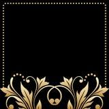 Vektorhälsning- eller inbjudankort Royaltyfria Bilder