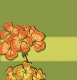 Vektorhälsningskort stock illustrationer