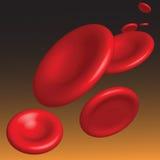 Vektorhämoglobinfluß Stockfoto