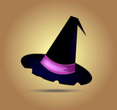 Vektorhalloween hatt Royaltyfri Fotografi