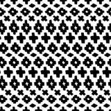 Vektorhandgezogenes nahtloses Stammes- Muster stock abbildung