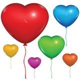 Vektorherzballon Einfach Änderung Stockfotos