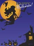 """Vektorhintergrund †""""glückliches Halloween Lizenzfreies Stockfoto"""