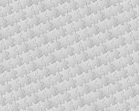 Vektorhintergrund gebildet von den weißen Puzzlespielstücken Stockbild