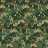 Vektorhintergrund Muster der grüne Farbzusammenfassungstarnung nahtloser Moderner Militärart camo Kunst-Designhintergrund Lizenzfreie Stockfotografie