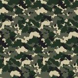 Vektorhintergrund Muster der grüne Farbzusammenfassungstarnung nahtloser Moderner Militärart camo Kunst-Designhintergrund Lizenzfreies Stockbild