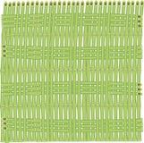 Vektorhintergrund von Bambusstielen Stock Abbildung
