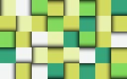 Vektorhintergrund von farbigen selbstklebenden Papieren Lizenzfreie Stockbilder