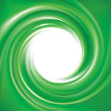 Vektorhintergrund von hellgrünen Strudeln Stockfotos