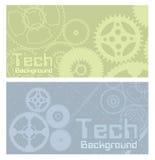 Vektorhintergrundtechnologie Lizenzfreies Stockfoto