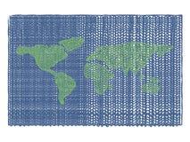 Vektorhintergrundweltwollgewebe stock abbildung