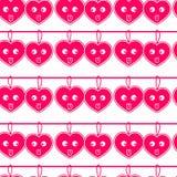 Vektorhjärtamodell för valentin dag stock illustrationer