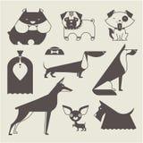 Vektorhund Arkivfoto