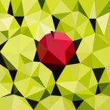 Vektorillustration av äpplen Royaltyfri Bild