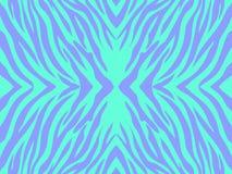 Vektorillustration av bakgrund för tryck för colorfullabstrakt begreppsebra Arkivbild