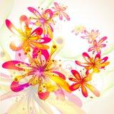 Färgrik blomma Fotografering för Bildbyråer