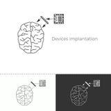 Vektorillustration av den framtida medicintrenden Royaltyfri Illustrationer