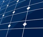 Sol- panelbakgrund Fotografering för Bildbyråer