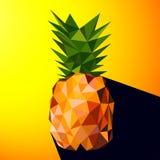 Vektorillustration av en ananas Fotografering för Bildbyråer