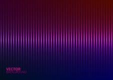 Vektorillustration av en Violet Music Equalizer Arkivbild