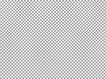 Vektorillustration av enkla linjer av diagonala monokromma celler, fyrkanter, rastermodell Svartvit textur för vektor illustrationer