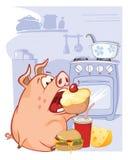 Vektorillustration av ett gulligt svin Tecknad filmtecken Ð 'ÐΜз,† FÖR ‹Ð¸Ì FÖR ½ Ñ FÖR ½ Ð FÖR  Ð FÖR ¼ Ñ FÖR Ñ-‹Ð - 4 stock illustrationer