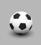 Vektorillustration av fotbollfotbollbollen Royaltyfri Illustrationer