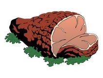 Vektorillustration av kött Arkivbild