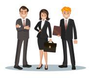 Vektorillustration av kontorspersonalen Royaltyfria Foton