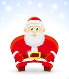Vektorillustration av Santa Claus Royaltyfria Foton