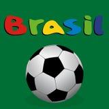 Vektorillustration Brasilien 2014 Royaltyfri Fotografi