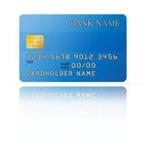 Vektorillustration der Kreditkarteikone Stockfotos