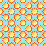 Vektorillustration der nahtlosen Musterform Lizenzfreies Stockfoto