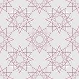 Vektorillustration der nahtlosen Musterform Lizenzfreie Stockfotografie
