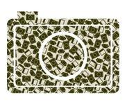 Vektorillustration der Retro- Kamera Lizenzfreie Stockfotografie