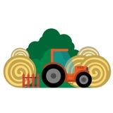 Vektorillustration des Bauernhofes Lizenzfreies Stockfoto