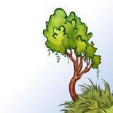 Vektorillustration des Baums Stockfotografie