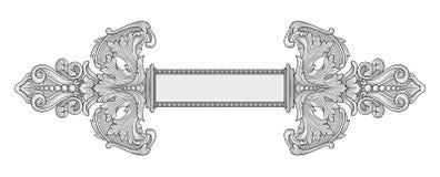 Dekorationsrahmen Lizenzfreies Stockfoto