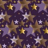 Vektorillustration des Konzeptes abstrakte sternenklare Nacht vektor abbildung