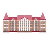Vektorillustration des modernen Gebäudes Lizenzfreies Stockfoto