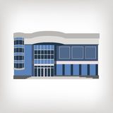 Vektorillustration des modernen Hauses, an Lizenzfreie Stockfotos