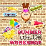 Sommer-Englisch-Werkstatt Lizenzfreies Stockfoto